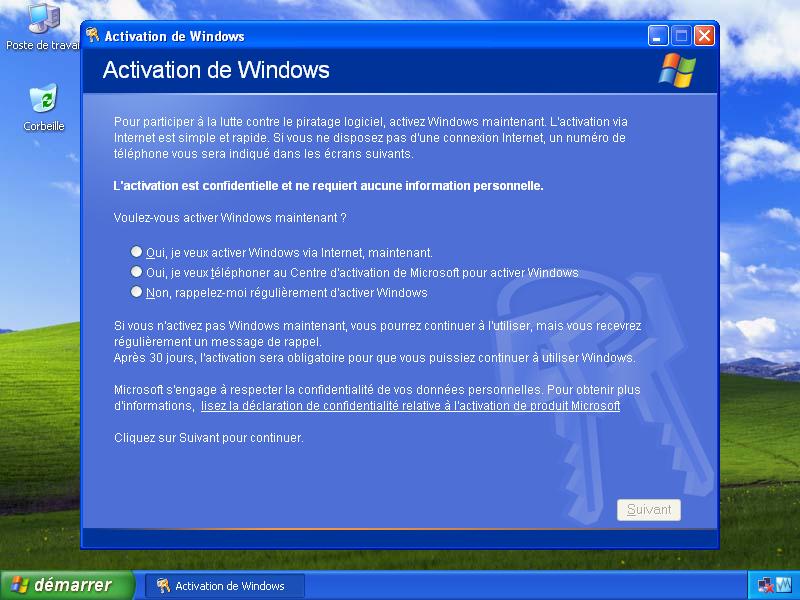 Требует активации что делать windows xp