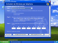 étape activation windows